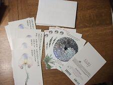 Wholesale Lot 11 Brush Dance RUMI Blank Greeting Cards Dont Analyze Enthusiasm +