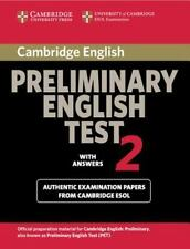 Cambridge Preliminary English Test 2 Student's Book with Answers: Examination Pa