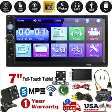 7 Inch DOUBLE 2DIN Car MP5 Player BT Tou+ch Screen Stereo Radio HD+Camera HU