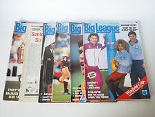 1989 NRL Big League - 6 issues - Collectors Editions. Great Preloved - Bargain!