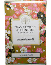 Wavertree & London JAPANESE PLUM CANDLE Hand Made Natural Scented Candle