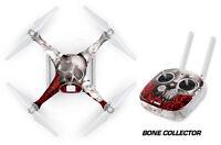 DJI Phantom 4 Drone Wrap RC Quadcopter Decal Sticker Custom Skin Accessory BONES