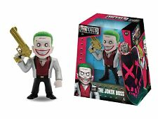 "DC Comics Suicide Squad Die Cast Metals 4"" Figure - The Joker Boss BRAND NEW"