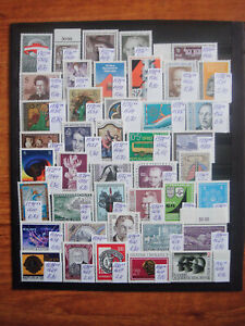 Austria - lot of 42 stamps years 1969 - 1980 MNH**