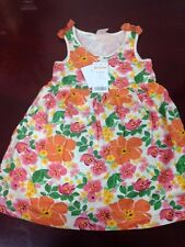 Beautiful Gymboree Girls Floral 2-Piece Sun Dress Set for 12-18 mo Infant, NWT
