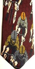 "A. Rogers Men's Sports Novelty Polyester Tie 59.8"" X 3.75"" Cycling"