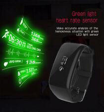 Waterproof Sports Heart Rate Monitor Bracelet Bluetooth Smart Watch Wristband