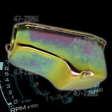 ZINC FINISH STEEL OIL PAN FOR 1980-1984 CHEVY / GM 229 3.8L V6 ENGINE