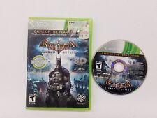 Batman: Arkham Asylum (Microsoft Xbox 360, 2010) GAME FREE FAST SHIPPING