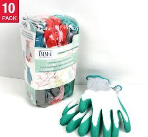 Groupe BBH Gardening Gloves, 10 Pairs