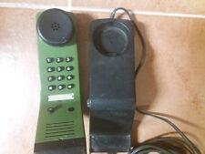 Post DFeAp 371-3 Kiel in farngrün ▪ Komforttelefon, kompakt, Tasten, Wand, grün