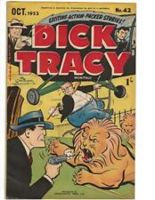 Dick Tracy #42 1953 Australian Helicopter - Lions Cover!