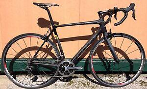 Racing Bicycle Carbon Scott Addict 10 Shimano Dura-Ace FC-9000 Road Bike L