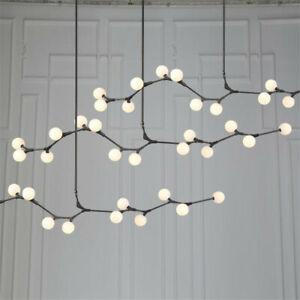 Modern Glass Branch Chandelier Home Living Room Bedroom Room Pendant Light