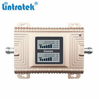 2G 3G 4G 850/2100MHz Mobile Signal Booster Phone Repeater Amplifier Rose Gold