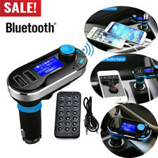 Bluetooth Car FM Transmitter MP3 Player Radio Adapter Kit Charger LCD Remote EN