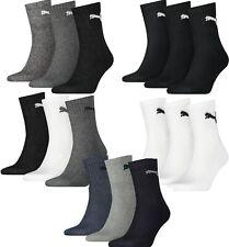 Puma Unisex Short Crew Socken Strümpfe Sport im 6 er 9 er 12 er 15 er 18 er Pack