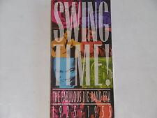 SWING TIME - THE FABULOUS BIG BAND ERA 1925-1955 3xCD + Booket BOX  OVP