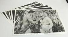 Press Photos - Tarzan And The Valley Of Gold - Mike Henry - Nancy Kovack - 1966
