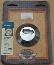 Harley original Tank Benzin Anzeige Kraftstoff Aluminator Cover Fuel Gauge