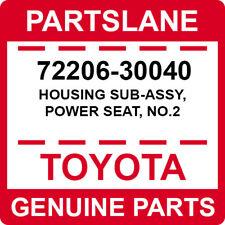 72206-30040 Toyota OEM Genuine HOUSING SUB-ASSY, POWER SEAT, NO.2