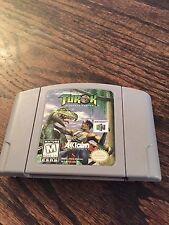 Turok: Dinosaur Hunter Nintendo 64 N63 Game Cart Good Shape Works L@@K NE5