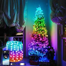 Árbol de Navidad Decoración Luces Personalizado Luces Cuerda LED control remoto App