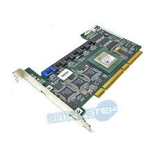 Adaptec 6 PORT SATA RAID contrôleur aar-2610sa/64mb Dell P/N h2052 100% OK
