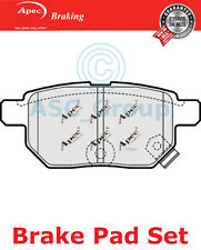 Apec Rear Brake Pads Set OE Quality Replacement PAD1578