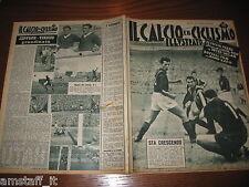 IL CALCIO E CICLISMO ILLUSTRATO 1955/42=INTER MILAN 2-1=JEPPSON VINICIO NAPOLI=