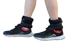 WORKOUTZ ADJUSTABLE ANKLE WRIST WEIGHTS (1 LB PAIR) 2 LB SET LEG