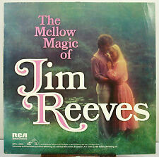 """12"""" 33 RPM STEREO LP - RCA DVL1-0504 - THE MELLOW MAGIC OF JIM REEVES (1981)"""