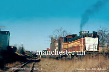 Boston&Maine RR 802  Manchester NH to Lawrence branch c.1970