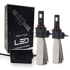 2x Fanless HB3 9005 Canbus LED Headlight Kit 6000K Xenon White Bulb Super Bright