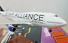 United Star Alliance Boeing B747-400 N121UA - Scala 1:200 Die Cast - JetX