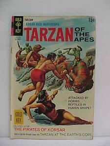 1968 GOLD KEY TARZAN OF THE APES DECEMBER 15 Cent Comic Book Good Shape