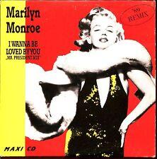 MARILYN MONROE - I WANNA BE LOVED BY YOU (REMIX 89) - CARDBOARD SLEEVE CD MAXI