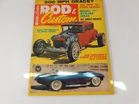 Vintage Original December 1964 Rod & Custom Magazine Custom Car Mods