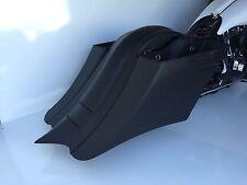 """97-08 drop back saddlebags & fender stretched 7"""" down & 14"""" back Harley bagger"""