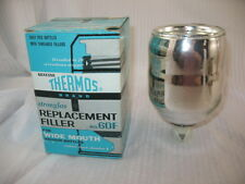 Stronglas Replacement Filler No. 60F Thermos Wide Mouth Vacuum Bottles NOS ~