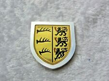 THE COATS OF ARMS OF THE GREAT MONARCHS OF HISTORY INGOT WILHELM I FRANKLIN MINT