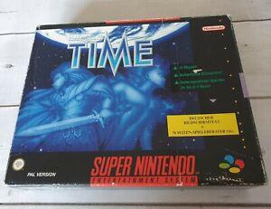 SNES Illusion of Time (Big Box) inkl. OVP & Spieleberater CiB