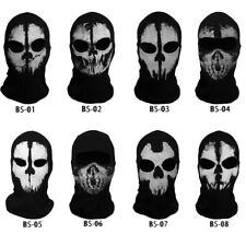 Ghost Skull Balaclava Skeleton Ski Biker Full Face Mask CS Game Call of Duty COD