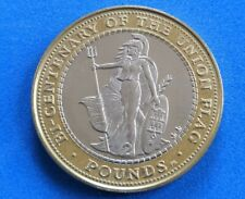 Gibraltar 2001 £2 Two Pound Coin Bicentenary of the Union Jack Flag