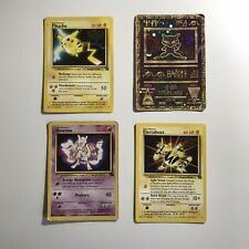Black Star Promo Pokemon WOTC Bundle Job lot - #2 #3 #4 & Ancient Mew