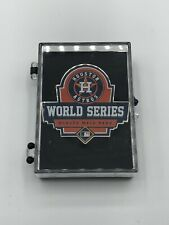 2017 Houston Astros MLB Official World Series Press Pin RARE PIN!