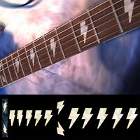 Inlay Stickers Decals Fret Markers For Guitar & Bass AC/DC Angus Lightning Bolt