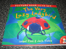 THE VERY LAZY LADYBIRD BY ISOBEL FINN   SOFTCOVER  BOOK WITH CD BRAND NEW