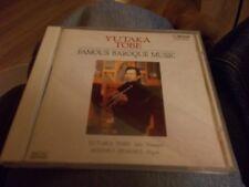YUTAKA TOBE CD FAMOUS BAROQUE MUSIC