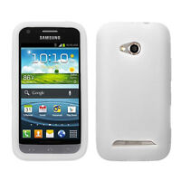 Solid Skin case (Translucent White) for SAMSUNG L300 (Galaxy Victory 4G LTE)